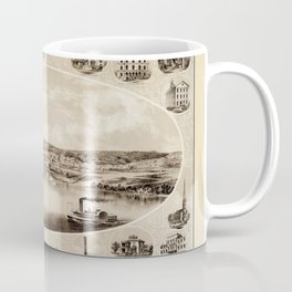 Dubuque 1859 Coffee Mug