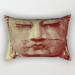 Buddha Duotone 3 Rectangular Pillow