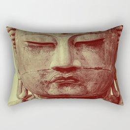 Buddha Duotone 3 Rectangular Pillow
