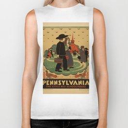Vintage poster - Pennsylvania Biker Tank