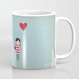 Love is in the Air - Girl Coffee Mug