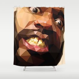 MC Ride Shower Curtain