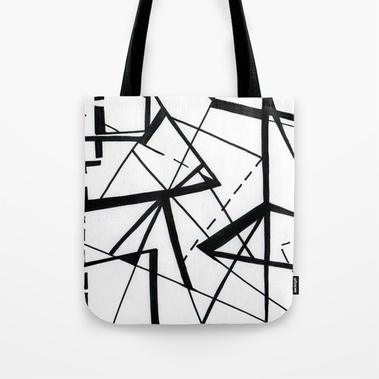 sharp Tote Bag