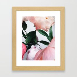 peonies2 Framed Art Print