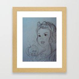 Snow White and The Apple Framed Art Print