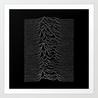 joy division Art Prints featuring Joy Division  by Thug