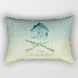 SAVINGNATURE Rectangular Pillow
