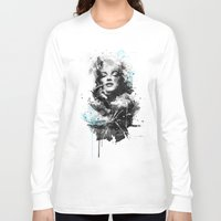 marilyn Long Sleeve T-shirts featuring Marilyn. by Emiliano Morciano (Ateyo)