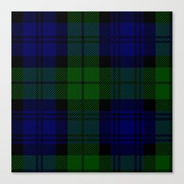 MY BLACK WATCH TARTAN Canvas Print