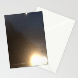 Abstracte Light Art in the Dark 4 Stationery Cards