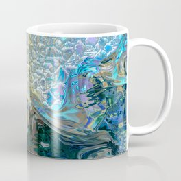 Sea Nymph Abstract Coffee Mug