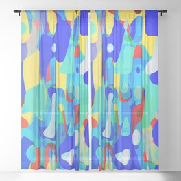 Meltdown Sheer Curtain