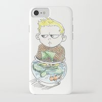 aquaman iPhone & iPod Cases featuring Baby Arthur by Eric Dockery