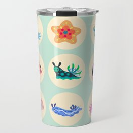 Hermit crab & starfish Travel Mug