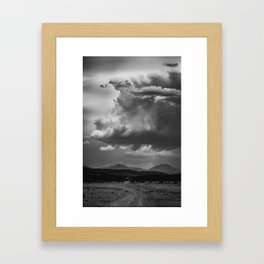Road to the Misty Mountains Framed Art Print