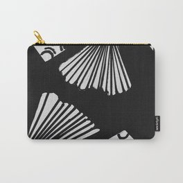 wavy circle pattern design Carry-All Pouch