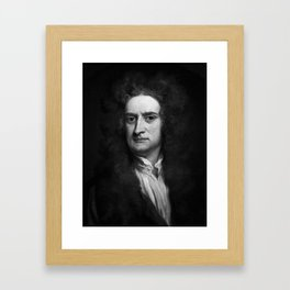 Sir Isaac Newton, 1702 Framed Art Print