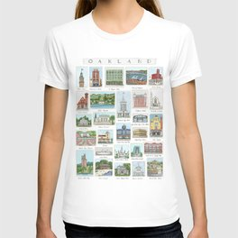 Oakland Landmarks T-shirt