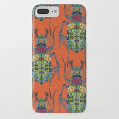 flower beetle orange iPhone 7 Plus Slim Case