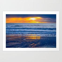 North Beach Bridlington  Art Print