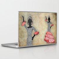 spain Laptop & iPad Skins featuring Spain by Dany Delarbre