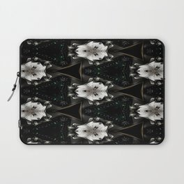 Concave Stature Pattern Laptop Sleeve