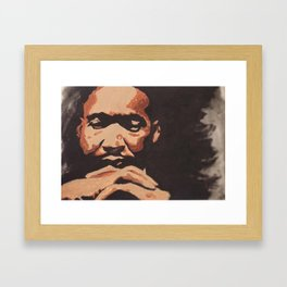 Dr. King Framed Art Print