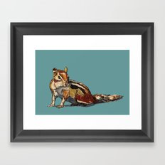 Chipmunk For You Framed Art Print