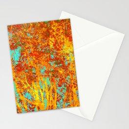 Trees Ablaze Stationery Cards