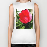 tulip Biker Tanks featuring Tulip by Mr & Mrs Quirynen