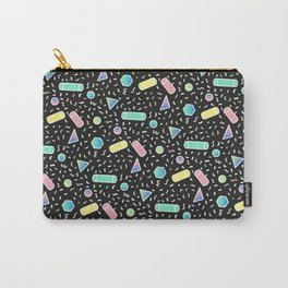 90s RETRO STYLE GEOMETRIC STYLE PATTERN Carry-All Pouch