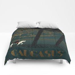 Vintage poster - Caucasus Comforters