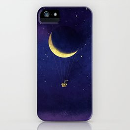 Lunar Flight iPhone Case