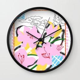 JAPAN POSTAL Wall Clock
