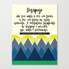Desapego Canvas Print