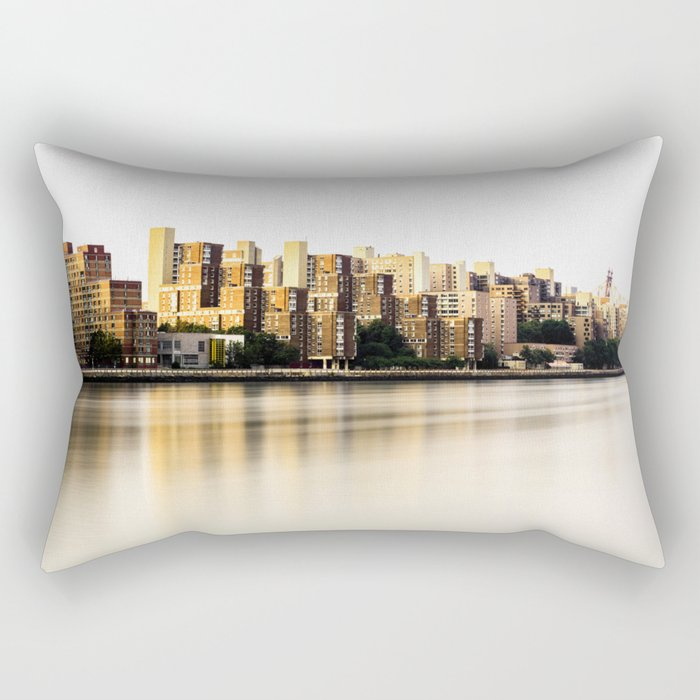 Roosevelt Island skyline Rectangular Pillow