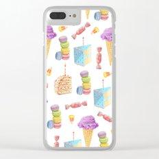 Birthday Girl Clear iPhone Case