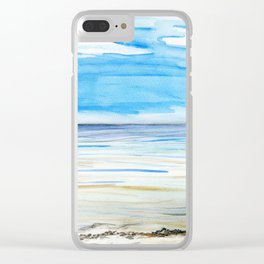 Changing weather Clear iPhone Case