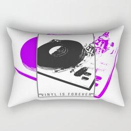 Vinyl is forever print Rectangular Pillow