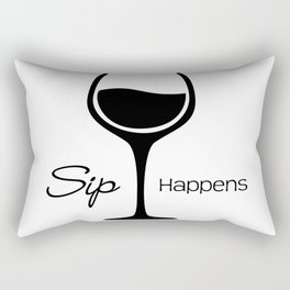 Sip Happens Rectangular Pillow