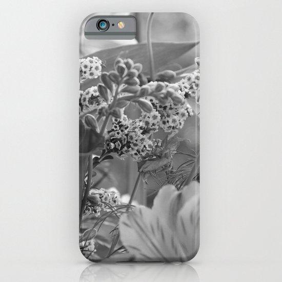 Bouquet B&W iPhone & iPod Case
