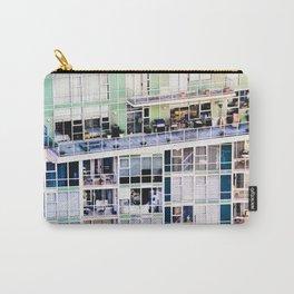 Voyeuristic 0307 Vancouver Cityscape Luxury Symmetry Carry-All Pouch