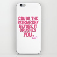 patriarchy iPhone & iPod Skins featuring Patriarchy by flightlesscas