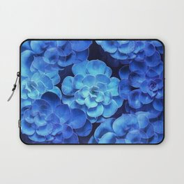 Succulent Plants In Blue Tones #decor #society6 #homedecor Laptop Sleeve