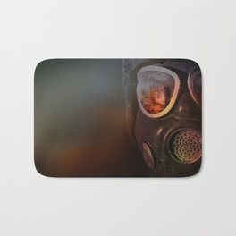 Fire in the eyes Bath Mat