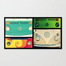 VW Collage Canvas Print