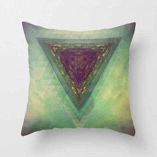 TRYY SKYY Throw Pillow