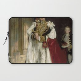 John Singer Sargent - Charles Stewart, Sixth Marquess of Londonderry Laptop Sleeve