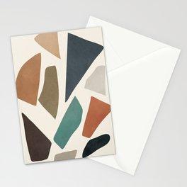Colorful Shapes I Stationery Cards