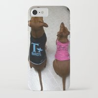 grease iPhone & iPod Cases featuring Grease Dogs by Bruce Wayne